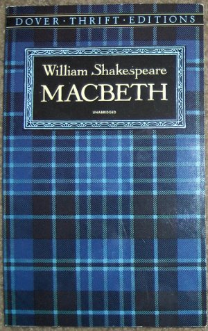 William Shakespeare: Macbeth ~ Unabridged Book~ Dover Thrift Editions ~ NEW