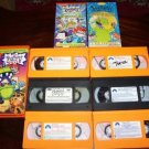 Lot of 9 Rugrats Movies/Reptar/Videos VHS