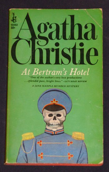 Agatha Christie ~ AT BERTRAM'S HOTEL ~ 1st Ed 1967 Pb