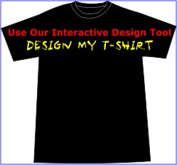 Custom Printed T-shirt - You Design It - Dark Shirt