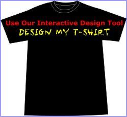 Custom Printed T-shirt - You Design It - Dark Shirt