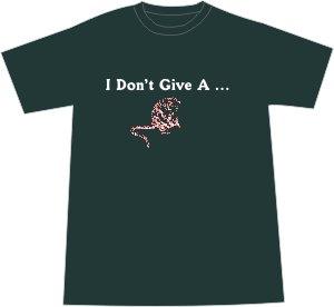 I Don't Give a Rat's Ass T-shirt - Forest 2XL