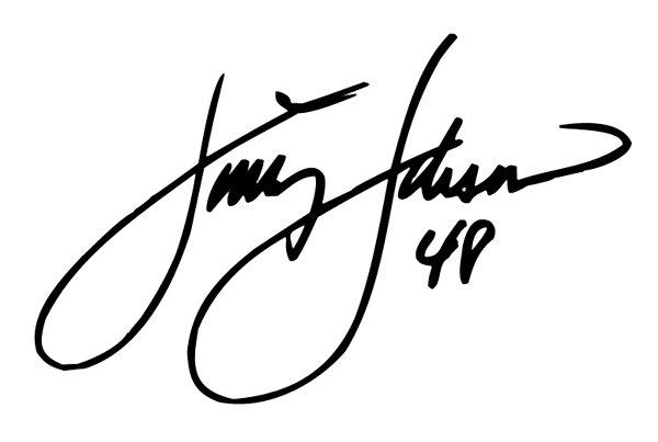 "8"" Jimmie Johnson Signature 48 Window Decal Sticker"
