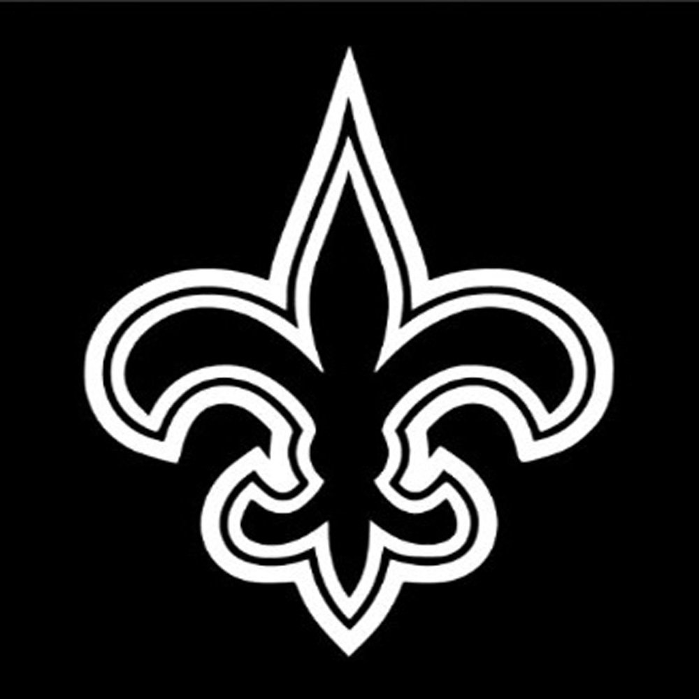 12 Quot New Orleans Saints Flur De Lis Vinyl Decal Window