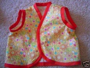 Baby Tankies Red Flowers