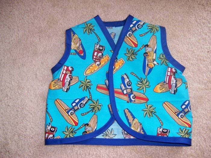 Baby Tankies Woodys and Surfboards