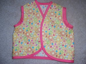 Baby Tankies Pink Flowers
