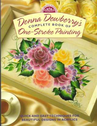 Complete Book of One Stroke Painting Dewberry
