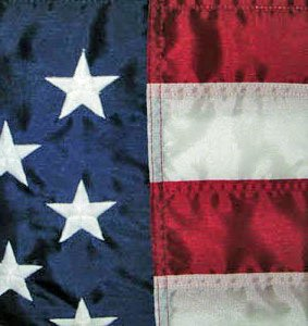 "American flag 12"" x 18"" sewn US Nautical flag THE Flag Company"
