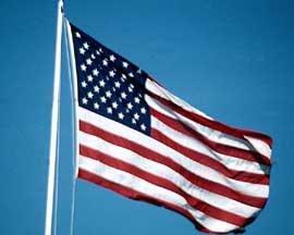American flag 3 x 5' sewn ToughTex Polyester US flag THE Flag Company