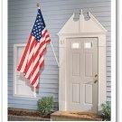 Residential American banner flag 2 1/2 x  4' US flag