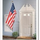 Residential American banner flag 3 x 5' US flag