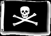 Jolly Roger Pirate flag 2 x 3' THE Flag Company