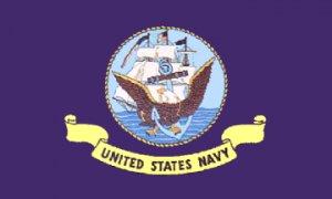 US Navy flag 5 x 8'