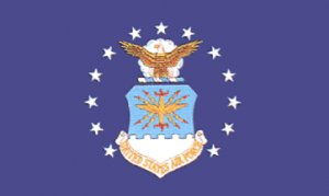 """US Air Force flag 12 x 18"""""""