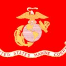 "US Marine Corps flag 12 x 18"""