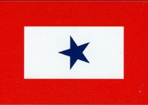 Blue Star Mom Military Service Flag 3 x 5'