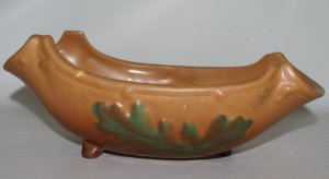 Weller Oak Leaf Console Bowl