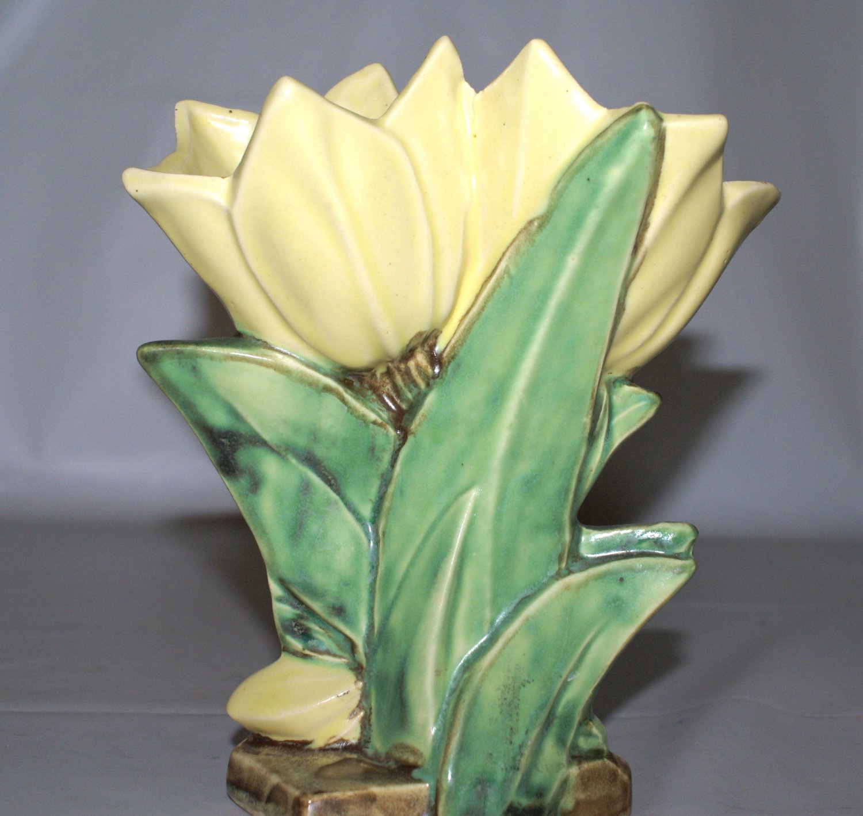McCoy Tulips Vase