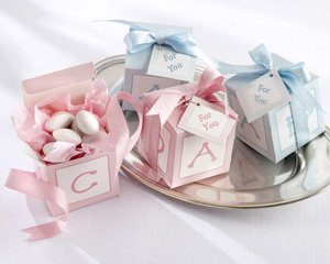 Classic Baby Blocks Baby Shower Favor Boxes (set of 24)