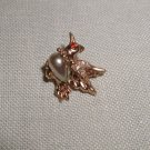 Vintage Jelly Belly Bird w/ Paste Eyes & Wings Brooch