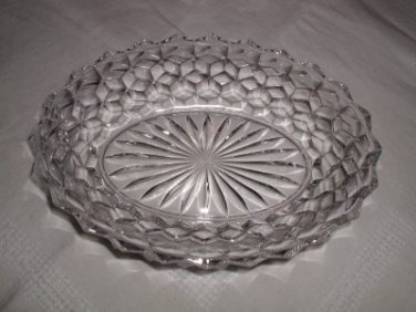 VINTAGE FOSTORIA AMERICAN OVAL VEGETABLE BOWL