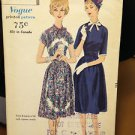 VTG VOGUE SEWING PATTERN 1960 DRESSES ALL COMPLETE UNCUT FACTORY FOLDED #9963