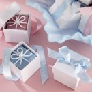 """It's a Boy!"" - ""It's a Girl!"" Giftbox Candles with Imprinted Ribbon- Set of 4"