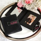 """Reflections of Love"" - Compact Velveteen Mirror & Photo Frame"