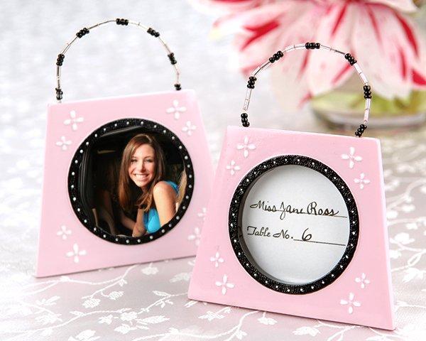 'Trendsetters' Handbag Placecard/ Photo Frame (Set of 4)