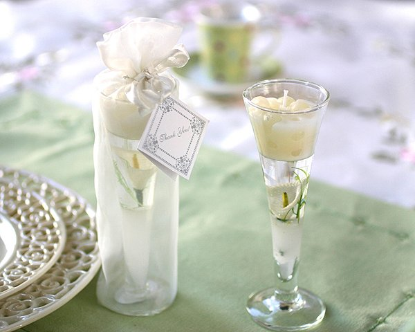 Garden Glass Gel Candle - Calla Lily