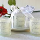 Faith, Hope & Love -  Set of 3 Frosted Gift Boxed Votive Candles