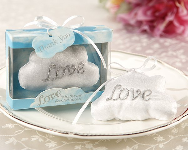 'Love is in the Air' Satin Cloud Sachet