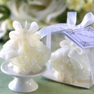 Wedding Bells Candle in Gift Box with Ribbon