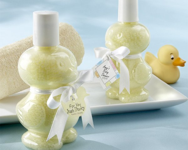 """""""Just Ducky"""" Bath Soak with Satin Ribbon and Tag"""