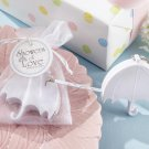 """Showers of Love"" Umbrella Measuring Tape in Organza Gift Bag"