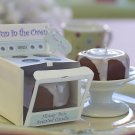 """Bun in the Oven"" Scented Candle (Set of 4)"