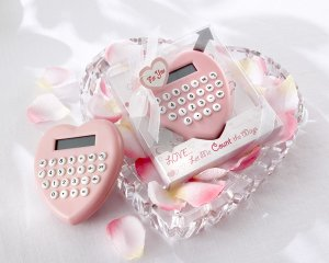 """""""Love...Let Me Count the Ways"""" Heart-Shaped Calculator"""