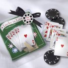 """Lucky in Love"" Playing Card Magnets (Set of Five)"