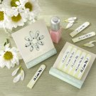 """He Loves Me. He Loves Me Not."" Ten-Piece, Flower-Petal Nail Files (Set of 12)"
