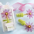 """Blooming"" Flower Bottle Stopper in Whimsical Window Gift Box"