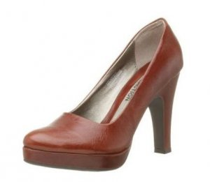 Kenneth Cole Reaction Pretty Please Pumps Whiskey Brown 7.5