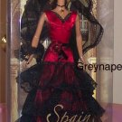 NRFB  Spain Barbie Dolls of the World 2008 Pink Label MNRFB (A)