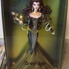 NRFB Medusa Barbie doll NEW only 6500 made! 2008 Gold Label NRFB (A)