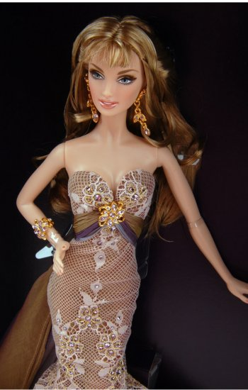 NRFB Christabelle Barbie Doll Gold Label MNRFB BEAUTIFUL!!