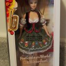 Oktoberfest Barbie Doll MNRFB Festivals of the World NRFB
