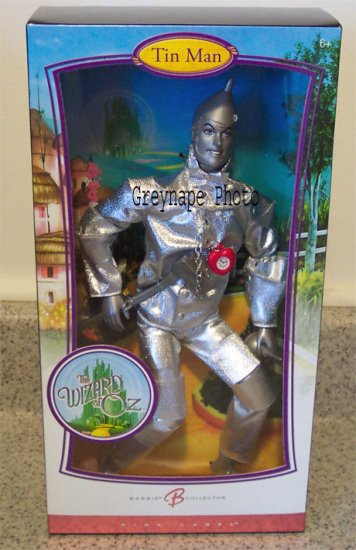 The Wizard of Oz Tinman Ken Doll NRFB Pink Label