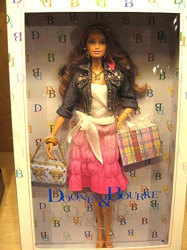 Dooney & Bourke Barbie Doll by Mattel with 'It' Bag! NRFB (A)