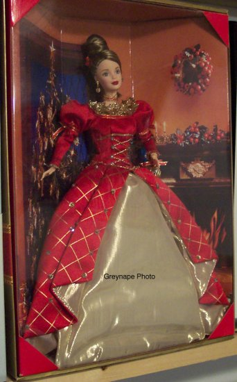 Holiday Treasures Barbie Collector Club Holiday Exclusive NRFB 1999