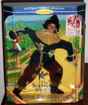 KEN as SCARECROW  Wizard of Oz NRFB Collector Edition  Hollywood Legends! 1997